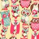 Розовые совы