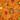 Оранжевый с жучками