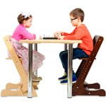 Стулья и кресла для не растущих столов