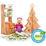 Шкафы и стеллажи из натурального дерева Буковка