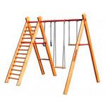 Детские деревянные спортивные комплексы