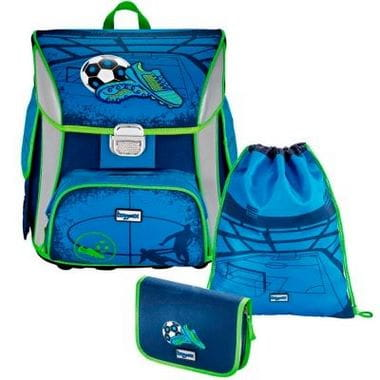 "Ранец школьный ""Soccer Blue"" Simy"