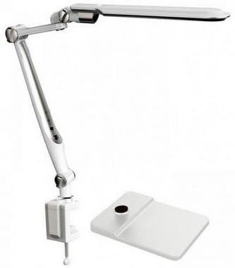 Лампа настольная PLX-713 на струбцине дополнительно подставка