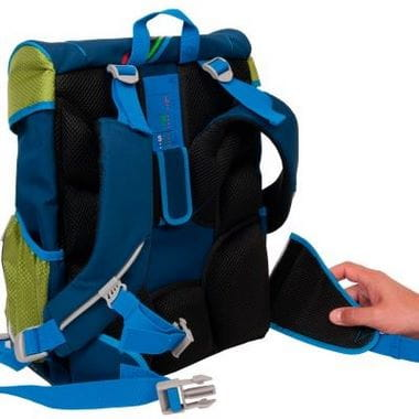 """Ранец ErgoFlex """"Крутой вираж"""", спортивная сумка, два пенала и папка-бокс"""