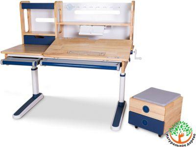 Детская парта Mealux Premium Oxford Wood Max