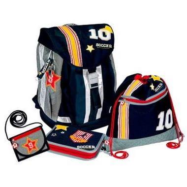 """Школьный рюкзак """"Soccer"""" Flex Style с наполнением"""