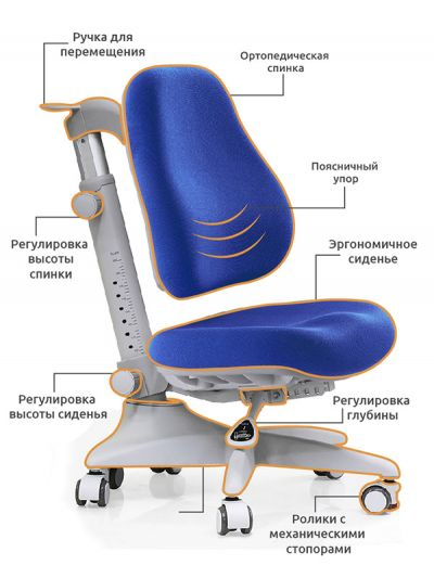 Детское кресло Mealux Match (Y-528)