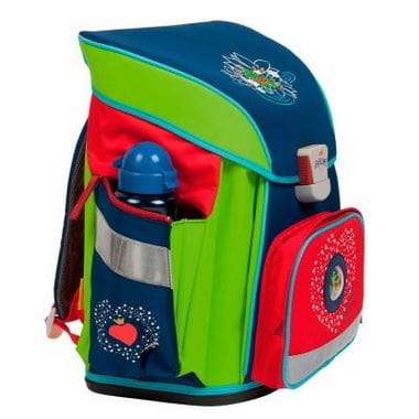 """Школьный ранец X-Light """"Влюбленная лягушка"""", спортивная сумка, два пенала и кошелек"""