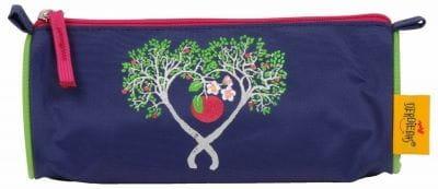 """Ранец ErgoFlex XL """"Цветущая яблоня"""", спортивная сумка, два пенала и папка-бокс"""