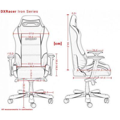 Компьютерное кресло DXRacer D-серия OH/IS11/NR/NB
