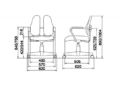 Кресло DUOREST Standart DR-260
