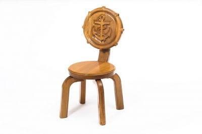 Детский стульчик Буковка Якорь