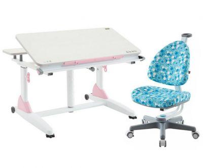 Комплект TCT Nanotec Парта G2-XS с креслом Ergo-BABO и прозрачной накладкой на парту 65х45