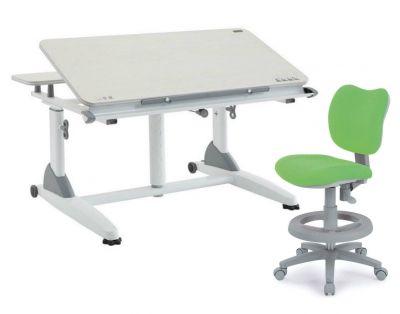 Комплект TCT Nanotec Парта G2-XS с креслом KIDS CHAIR и прозрачной накладкой на парту 65х45