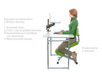 Коленный стул SmartStool KM01BМ Black без чехла