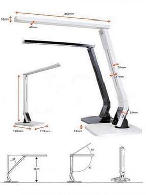 Лампа настольная светодиодная CV-1100