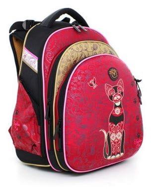 Ранец с кошкой Hummingbird Teen для девочки (T29)