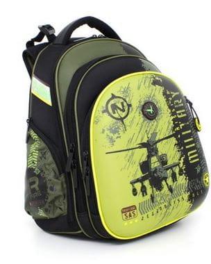 Черный ранец Hummingbird Mission Military для мальчика (T31)