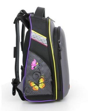 Ранец с цветами и бабочками Hummingbird Teen для девочки (T35)