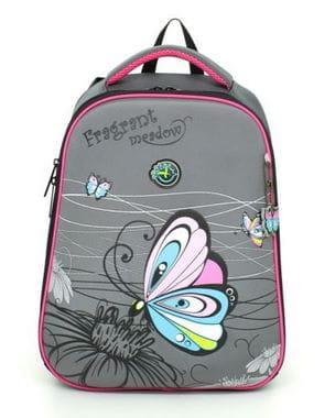 Ранец Hummingbird Teen с бабочкой для девочки (T45)