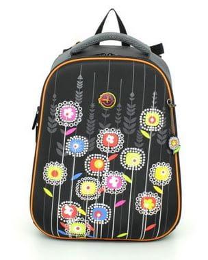 Ранец Hummingbird Teen с цветами для девочки (T46)
