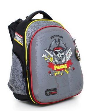 Черный ранец Hummingbird West Coast Pirates для мальчика (T60)