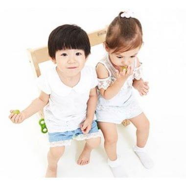 Комплект из дерева для малышей Q-momo
