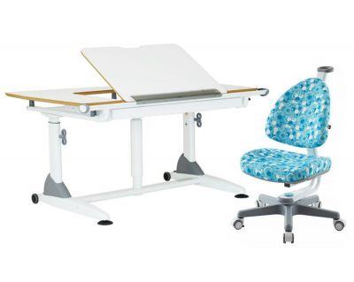Комплект TCT Nanotec Парта G7+S с креслом Ergo-BABO и прозрачной накладкой на парту 65х45