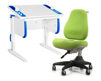 Комплект ДЭМИ Парта Techno СУТ 26 с креслом Match Chair и прозрачной накладкой на парту 65х45