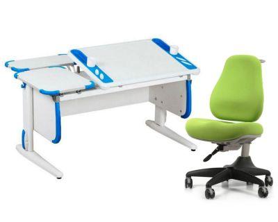 Комплект ДЭМИ Парта Techno СУТ 31-01 с креслом Match Chair и прозрачной накладкой на парту 65х45