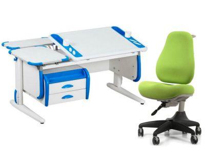 Комплект ДЭМИ Парта Techno СУТ 31-04 с креслом Match Chair и прозрачной накладкой на парту 65х45