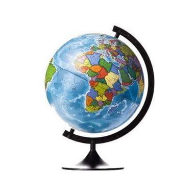 Глобус Земли политический с подсветкой 320 мм Классик