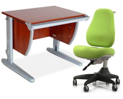 Комплект ДЭМИ Парта СУТ-13 60х50 см с креслом Match Chair и прозрачной накладкой на парту 65х45