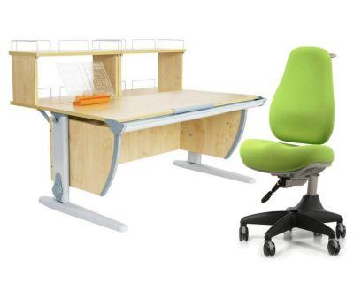 Комплект ДЭМИ Парта СУТ 15-01Д2 с креслом Match Chair и прозрачной накладкой на парту 65х45