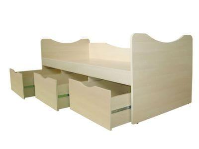 Кровать с ящиками Астек