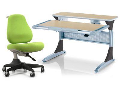 Комплект Comf-pro Стол Harvard с ящиком с креслом Match Chair (Матч) и прозрачной накладкой на парту 65х45