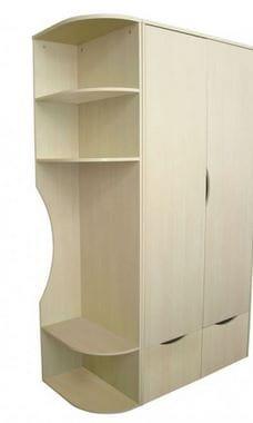 Шкаф комбинированный Астек