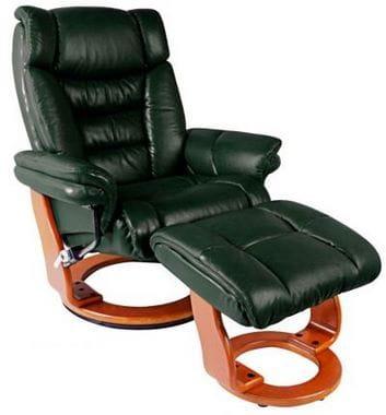 Кожаное кресло-реклайнер Relax Zuel