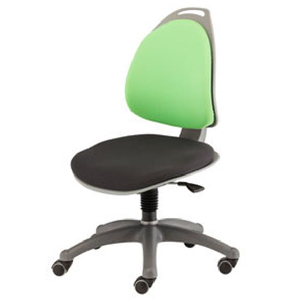 Компьютерное кресло для школьника Berry Салатово/черный Серебро