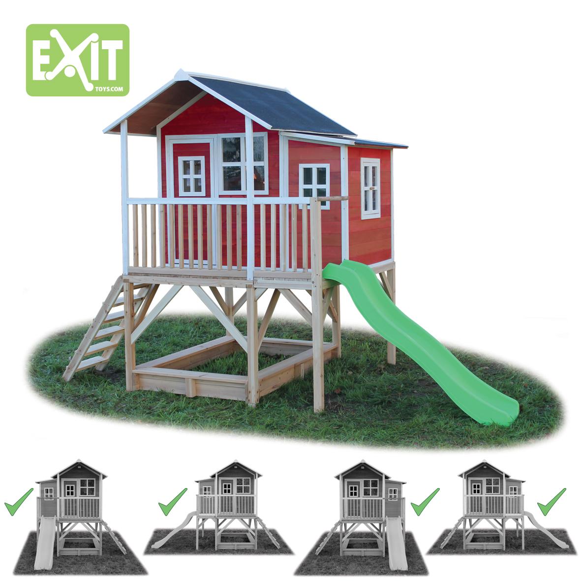 Exit Toys Игровой дом с горкой 550 shimano hyperloop cx 13 550 spod