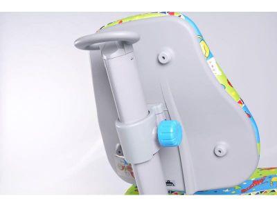 Комплект Comf-pro Стол без ящика с креслом «Newton» (Ньютон) и прозрачной накладкой на парту 65х45