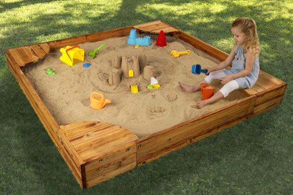 Песочница PlayNation Флорида Массив дерева Сосна