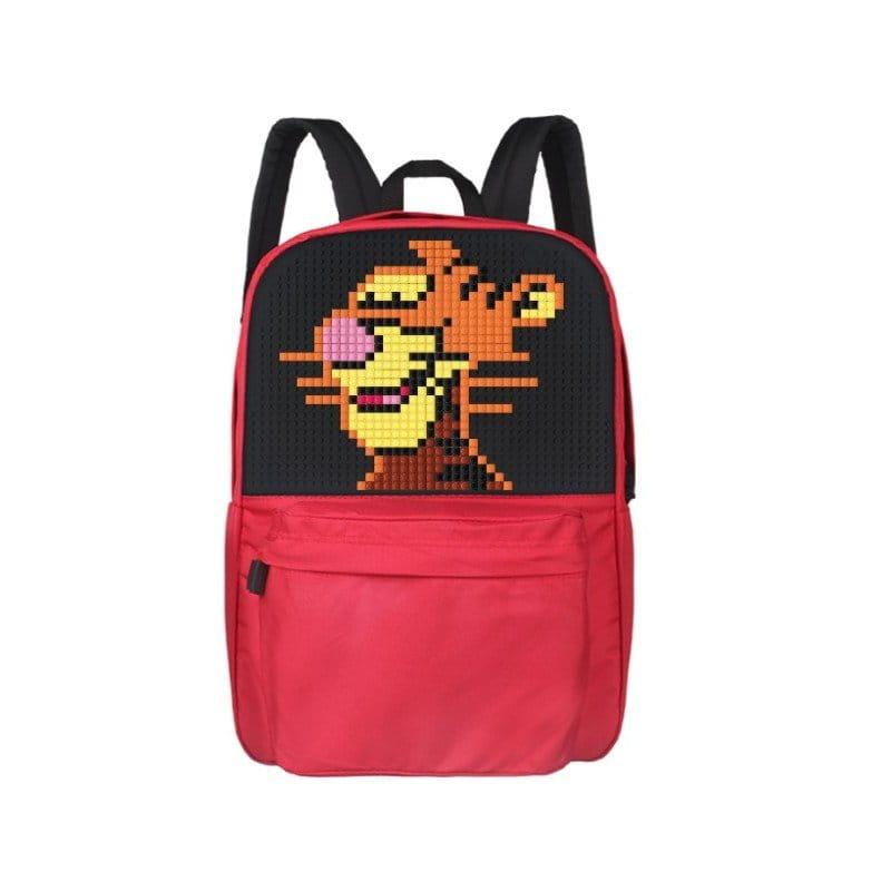 Рюкзаки и ранцы Upixel Классический школьный пиксельный рюкзак пиксельный рюкзак starry sky фуксия