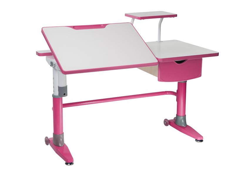 Комплект FunDesk Парта-трансформер для школьника Ballare с полкой и выдвижным ящиком растущая парта для школьника школярик с 490 1 с мольбертом и выдвижным ящиком 90см