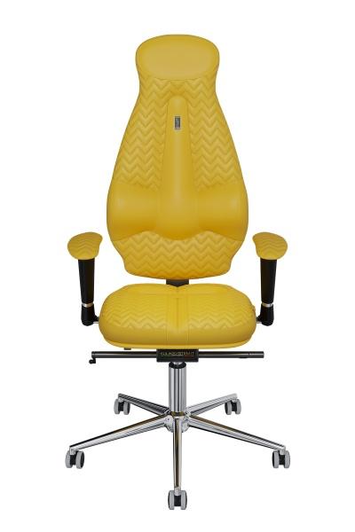 Офисное кресло Kulik System Galaxy Металл Желтый Серебро эргономичное кресло kulik system galaxy 1104