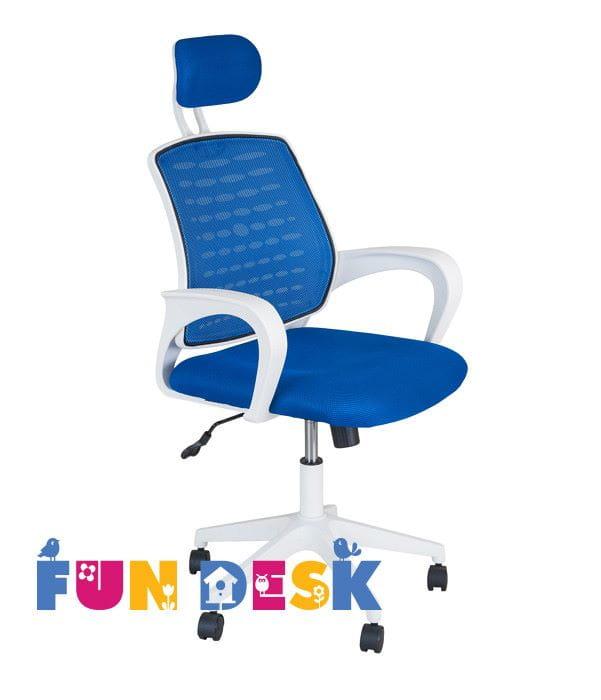 Детское компьютерное кресло FUNDESK LST5 с подлокотниками