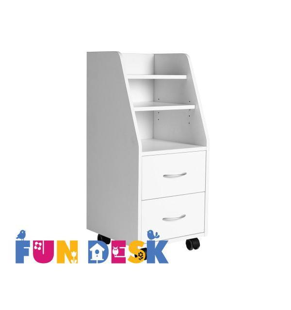 Шкафы и стеллажи FunDesk SS15 МДФ Белый