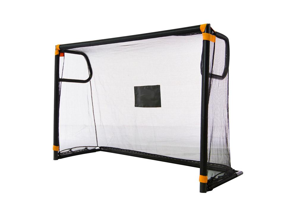 Exit Toys Детские футбольные ворота с тренировочным экраном 183 x 70 x 125 стойка телескопическая artmoon ajaks с двумя полками 70 5 x 24 x 245 см