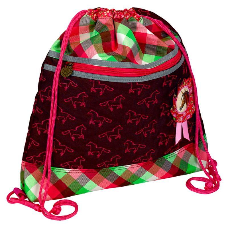 Рюкзаки и ранцы Spiegelburg Мешок для обуви Pferdefreunde 2 школьные рюкзаки spiegelburg школьный ранец pferdefreunde ergo style plus с наполнением 10572