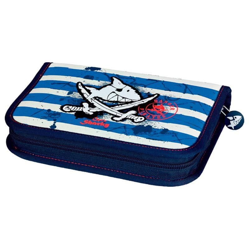 Пенал с наполнением Capt'n Sharky сумки для детей spiegelburg спортивная сумка captn sharky 30480